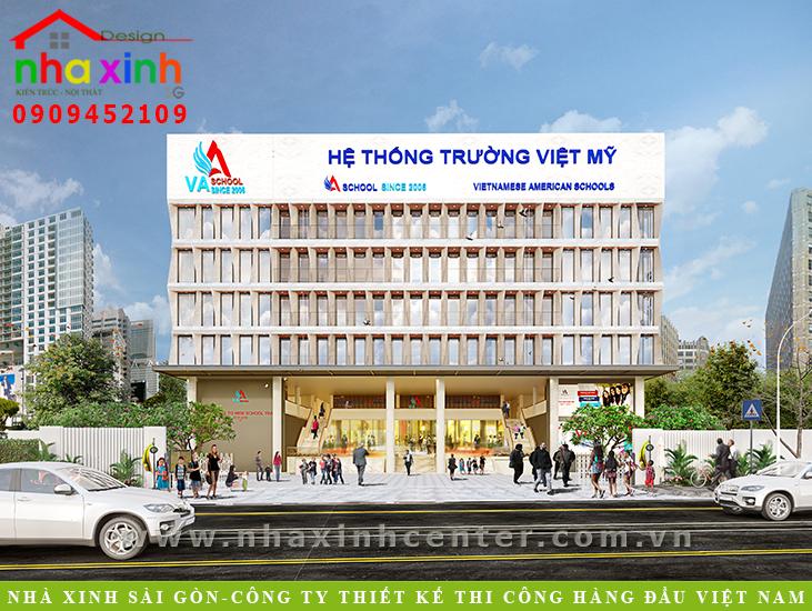 Phối Cảnh Hệ Thống Trường Quốc Tế Việt Mỹ | NP-99